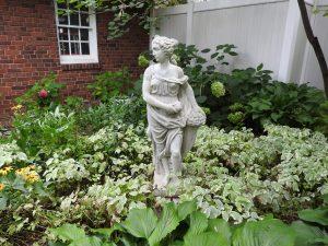 Vintage Garden Sculpture