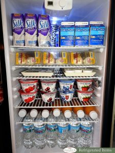 Refrigerated Items